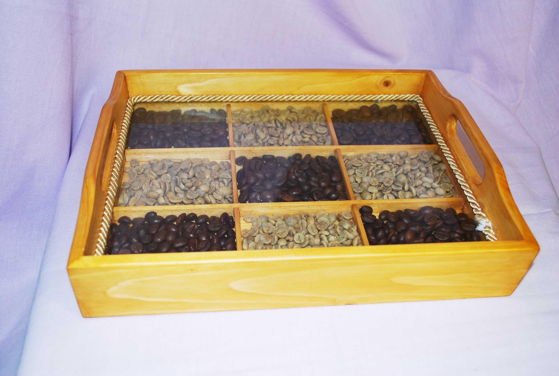 Vassoi In Legno Con Vetro : Idee regalo in legno